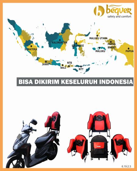Melayani Pengiriman ke Seluruh Indonesia – Boncengan Motor